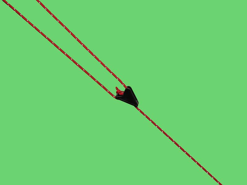 軽く強度の高い張り綱
